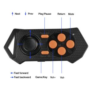 Bluetooth Remote Controller Wireless Gamepad for Mobile Phone Games 3D Vr Glasses Support Android 4.3 & Ios 7.0 Above Smart Phone PC for iPhone 6s Plus iPad Air pictures & photos