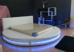 A542 Antique Bedroom Furniture with LED Lighting pictures & photos