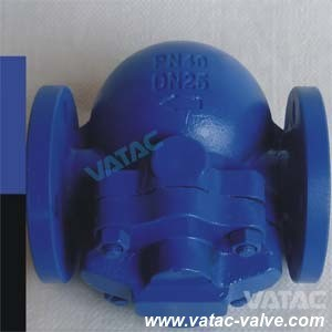 Cast Steel Body RF Flanged Ball Float Steam Trap pictures & photos