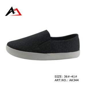 Injection Canvas Comfortable Fashion Platform Shoes for Women (AK344) pictures & photos