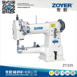 Zoyer Single Needle Cylinder-Bed Compound-Feed Heavy Duty Sewing Machine (ZY335) pictures & photos
