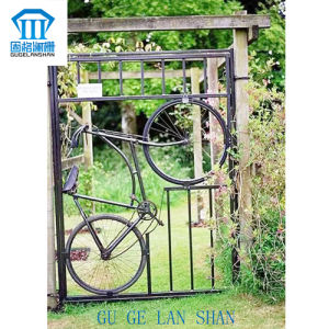 High Quality Crafted Wrought Single Iron Gate 012 pictures & photos