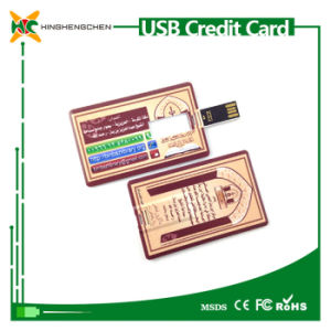 Waterproof Credit Card USB 2.0 Memory Stick Flash Pendrive pictures & photos