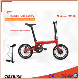 16′′ Mini City Folding Electric Bicycle with 36V Hidden Battery pictures & photos