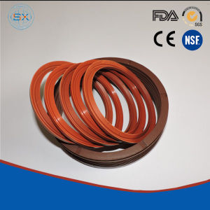 NBR, FKM, PTFE Axial Hydraulic Shaft Rubber V-Ring Seals pictures & photos