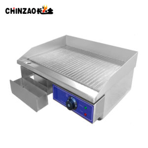 Commercial Kitchen Flat Hotplate Grill BBQ Teppanya Electric Griddle pictures & photos