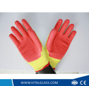 Latex Safety Coated Work Glove pictures & photos