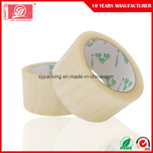 55mic Water Based Acrylic Adhesive Clear BOPP Packing Tapes 120rolls in a Carton pictures & photos