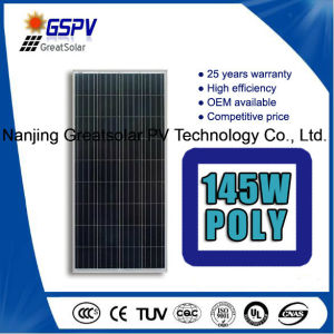 Solar Panel 145W Poly Solar PV Module pictures & photos