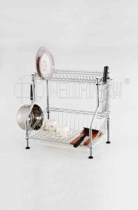 2017 3 Layer NSF Steel Kitchen Wire Shelf Dish Kitchen OEM Metal Plate Rack pictures & photos