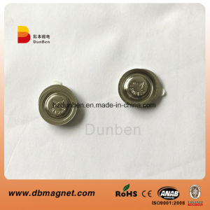 D17mm Metal Round Magnetic Name Badge Magnet pictures & photos