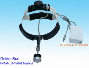 High Brightness Medical Surgical Simple LED Headlight with Plastic Headband pictures & photos