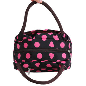 Fashion Colorful Polyester Cool Insulated Cooler Lunch Bag for Lady pictures & photos
