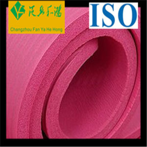 Customized Color and Size Natural Rubber Flexible EVA Yoga Mat pictures & photos