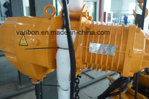 0.5ton Manual Trolley Fixed Electric Chain Hoist pictures & photos