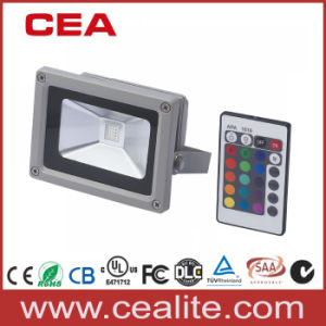 50W RGB LED Flood Light with Remote Control (LFL5-50) pictures & photos