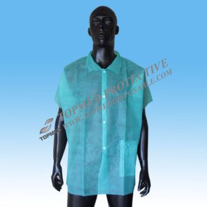 Fluid Resistant Disposable Lab Coats, Jackets, and Gowns pictures & photos