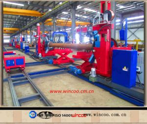 Heavy-Duty Cantilever Type Automatic Pipe Welding Machine/Pipe Spool Fabrication System pictures & photos