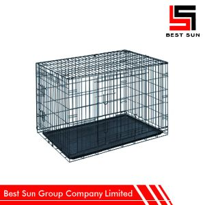 Custom Folding Metal Portable Cat Cage pictures & photos