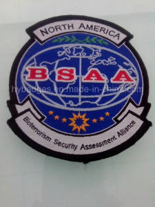 North America Embroidery Badges Custom Army Patch (GZHY-PATCH-002) pictures & photos