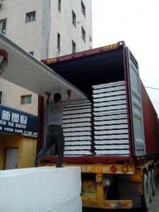 Blue EPS Sandwich Panels for Prefab House for Roof pictures & photos