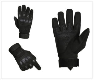Military Tactical Airsoft Outdoor Full Finger Hunting Protective Safety Gloves pictures & photos