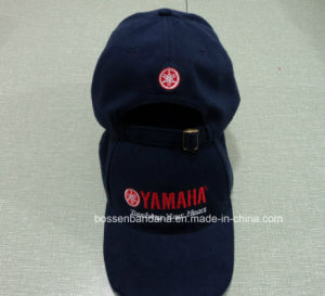 China Factory Produce Custom Logo Embroidered Black&Red Cotton Twill Baseball Cap with LED Light pictures & photos