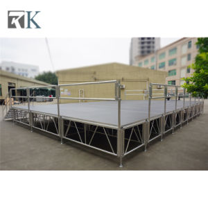 Aluminum Concert Portable Stage with Stage Truss for Outdoor Stage pictures & photos