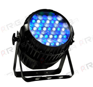 Zoom Outdoor LED PAR 54X3w RGBW 4in1 PAR Light pictures & photos