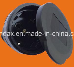Elendax IP44 Grade Professional 16A/250V Schuko Rubber Industrial Plug (P6061) pictures & photos