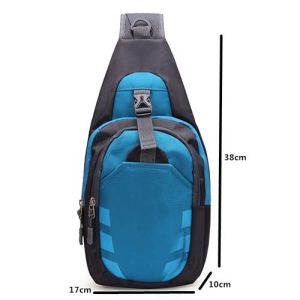 Kids Single Crossbody Chest Triangle Shoulder Pack Bag pictures & photos