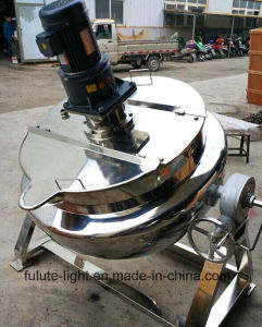 Stainless Steel Steam Jacketed Kettle with Agitator pictures & photos