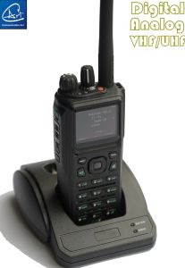 Digital and Analog Dual Mode Tatical Handheld Radio in VHF Band pictures & photos