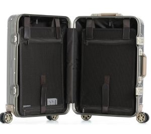 New 20′′25′′ 100% Aluminum Alloy Casting Trolley Luggage pictures & photos