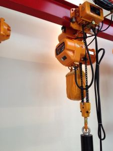 5ton Electric Chain with Trolley Hoist pictures & photos