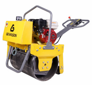 Single Drum Vibratory Road Roller with Honda Engine pictures & photos
