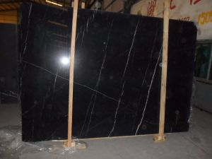Natural Stone Black Marquina Marble Floor Tile pictures & photos