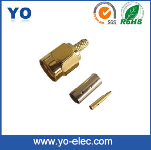 SMA Male Crimp Type Connector for Rg174 (YO 7-002)
