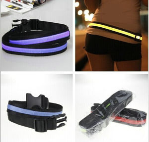 Glowing Sport Waist Belt with Battery