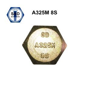 ASTM A325m 8s Hsb Zinc Plated Bolts