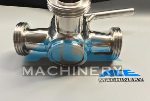 Sanitary Stainless Steel Three Way Plug Valve (ACE-XSF-H4) pictures & photos