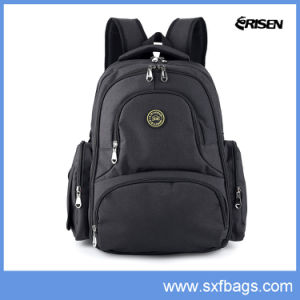 Large Capacity Diaper Backpack Bag with Stroller Clips pictures & photos