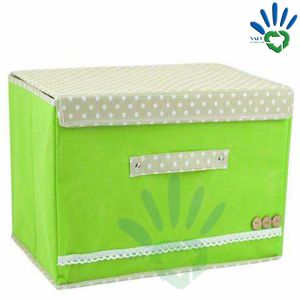 Custom Multipurpose PP Non Woven Clothing Fabric Foldable Storage Box pictures & photos
