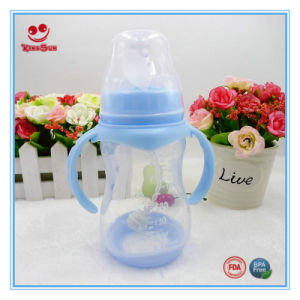250ml Wide Mouth Milk Feeding Bottle for Baby pictures & photos