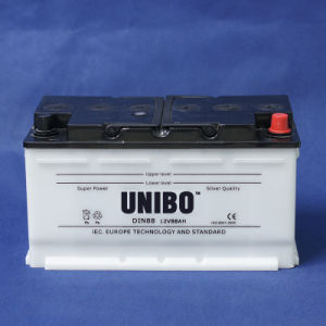 High Performance DIN88 12V88ah Dry Charged Car Battery pictures & photos