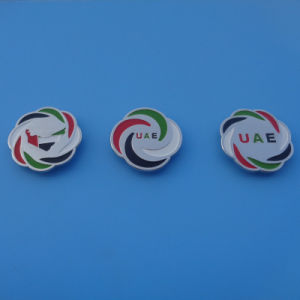 Dubai UAE 2015 National Day Souvenir Gifts Metal Flag Lapel Pins pictures & photos