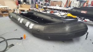 Canto Haoyu Boat New Model Inflatable Tube Diameter Overstriking 60 Cm Speedboats 5.6 M 18.4FT Fishing Boat Omnibearing Protection pictures & photos