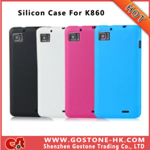 High Quality Silicon Case for Lenovo K860 Ideaphone, K860 Soft Case Cover