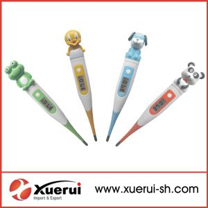 Cartoon Head Digital Thermometer with Flexible Tip pictures & photos