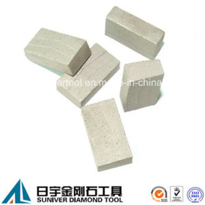 Sandwich Diamond Segment Stone Blade Cutting pictures & photos